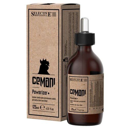 Selective Professional Cemani Powerizer+ Лосьон профилактический против выпадения волос, 125 мл selective professional шампунь powerizer против выпадения волос 250 мл