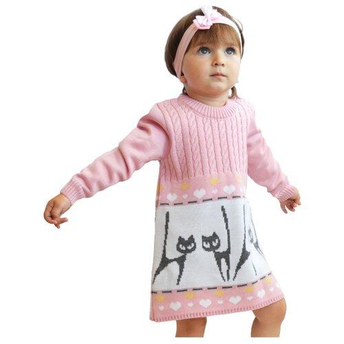 Платье Golden Kid`s Art размер 128, розовый