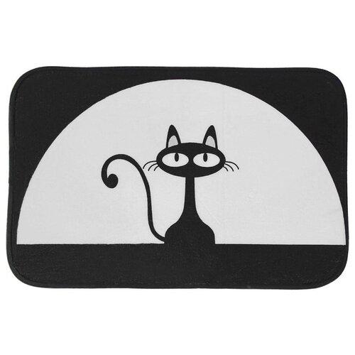 Коврик Доляна Черная кошка 40х60 см (1392739) черная кошка