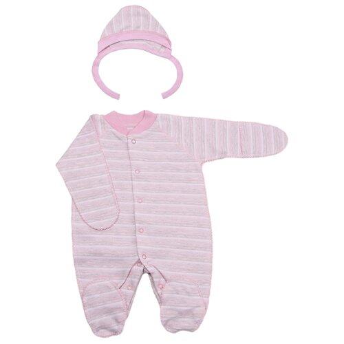 Комплект одежды Клякса размер 56, розовыйКомплекты<br>