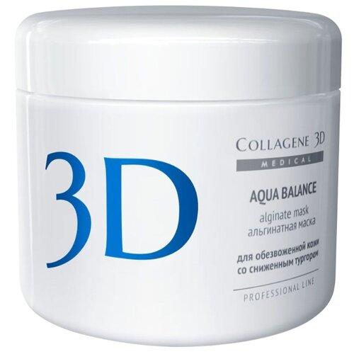 Medical Collagene 3D альгинатная маска для лица и тела Aqua Balance, 200 г www collagene ru