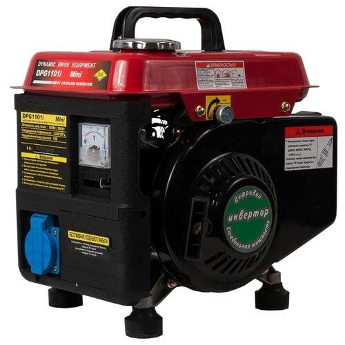 Бензиновый генератор DDE DPG1101i (800 Вт) бензиновый генератор dde g550e 5000 вт