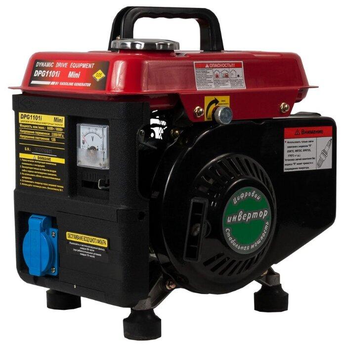 Бензиновый генератор DDE DPG1101i (800 Вт)