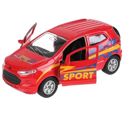 Купить Легковой автомобиль ТЕХНОПАРК Ford Ecosport Спорт (SB-18-21-S-WB) 12 см красный, Машинки и техника