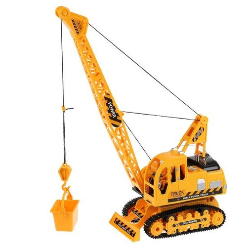 Купить Подъемный кран Hengjian 689-18 1:18 желтый, Радиоуправляемые игрушки