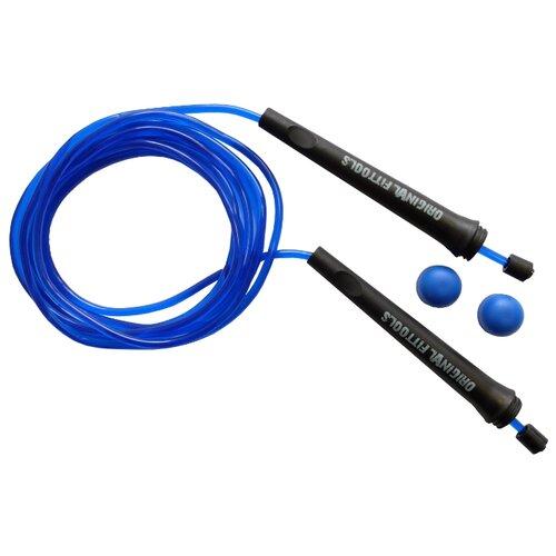 Скакалка Original FitTools FT-JR99 синий 300 см