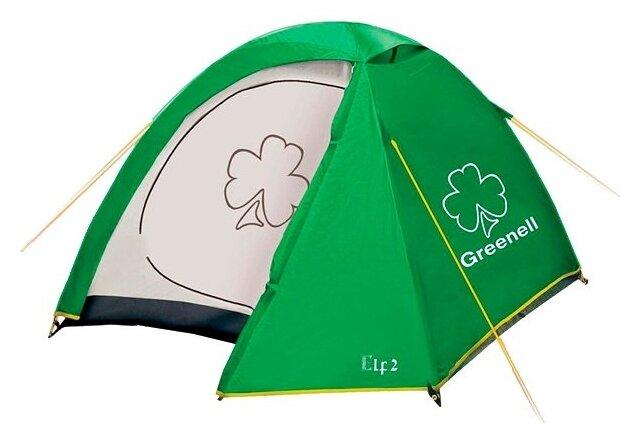 Палатка Эльф 3 V3 Зелёный
