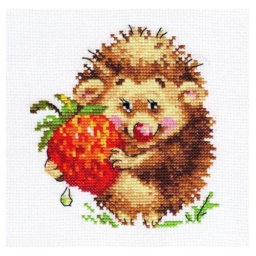 Купить 0-51 Набор для вышивания АЛИСА 'Ёжик с клубникой' 11*12см, Алиса, Наборы для вышивания