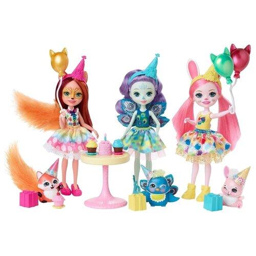 Купить Игровой набор Enchantimals День рождения, GJX22, Куклы и пупсы