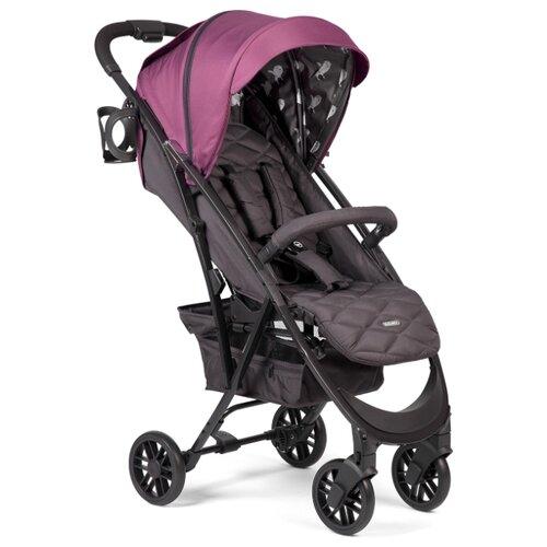 Прогулочная коляска Happy Baby Eleganza V2 bordo, цвет шасси: черный