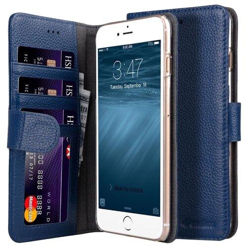 Чехол Melkco Wallet Book ID Slot Type для Apple iPhone 7/8 Plus темно-синийЧехлы<br>