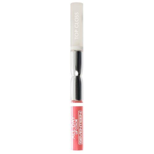 Seventeen Жидкая помада для губ All Day Lip Color, оттенок 18, нежный розовыйПомада<br>