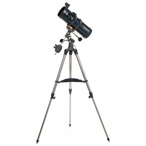 Фото - Телескоп Celestron AstroMaster 114 EQ синий/черный телескоп