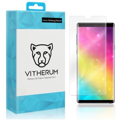 Защитное стекло Vitherum AQUA Premium 3D Curved Full Transparent Tempered Glass для Samsung Galaxy Note 8 прозрачный