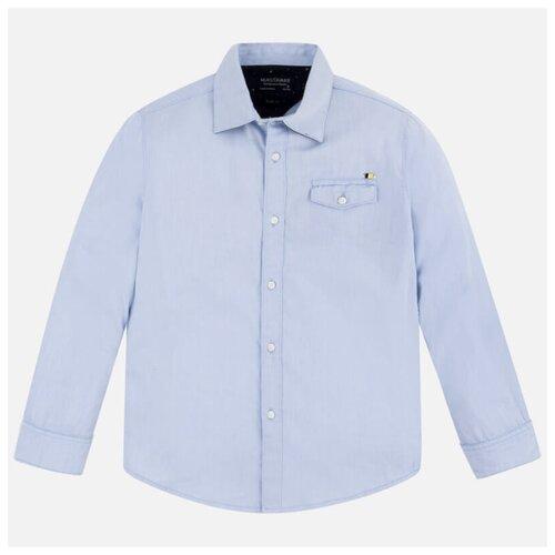 Рубашка Nukutavake размер 152, голубой