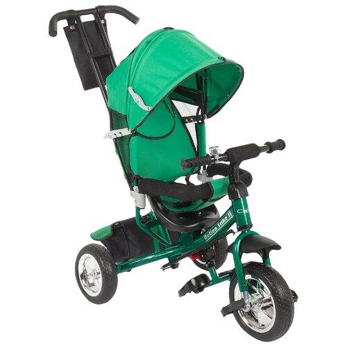 Купить Трехколесный велосипед Capella Action trike II (2019) green, Трехколесные велосипеды