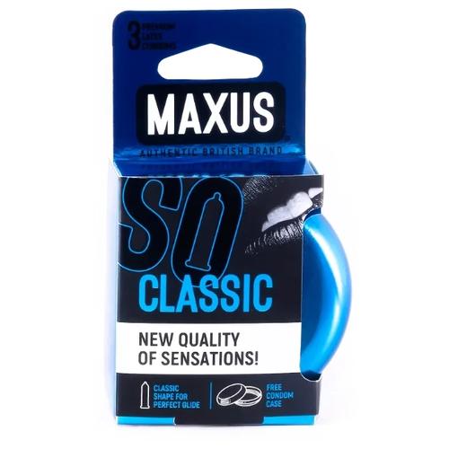 Купить Презервативы Maxus Classic (железный кейс), 3 шт.