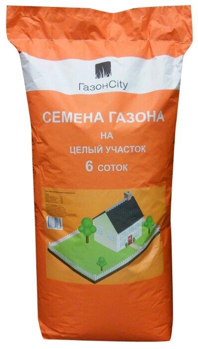 Смесь семян ГазонCity Универсальный газон Целый участок, 18 кг