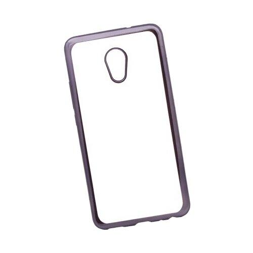 Чехол Liberty Project 0L-00032072 для Meizu Pro 6 Plus прозрачный/черныйЧехлы<br>