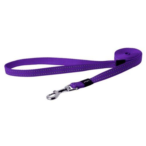 Поводок для собак Rogz Utility Snake M paars 1.4 м 16 мм