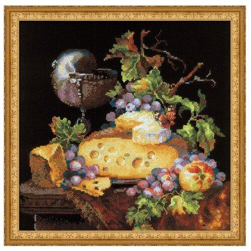 Купить Риолис Набор для вышивания крестом Голландский натюрморт 30 х 30 (1659), Наборы для вышивания