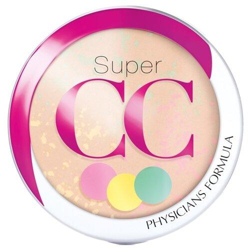 Physicians Formula Super CC пудра компактная корректирующая SPF 30 Color-Correction + Care СС Powder светлый/средний cc cream complete correction spf 50
