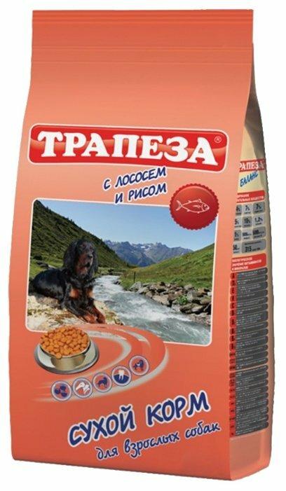 Корм для собак Трапеза Для собак с чувствительным пищеварением Лосось с рисом (2.5 кг)