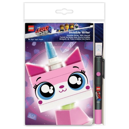 lego Канцелярский набор LEGO Lego Movie 2 Unikitty (52302), 3 пр., розовый