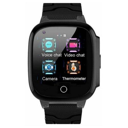 Детские умные часы Smart Baby Watch T8W, черный детские умные часы smart baby watch rw37 серый черный