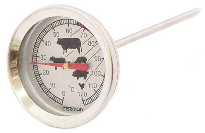 Весы, таймеры, термометры Fissman Термометр для мяса, диапазон измерений 0-120°C, длина щупа 13см