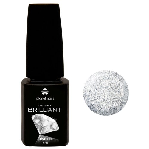 Гель-лак planet nails Brilliant, 8 мл, оттенок 701