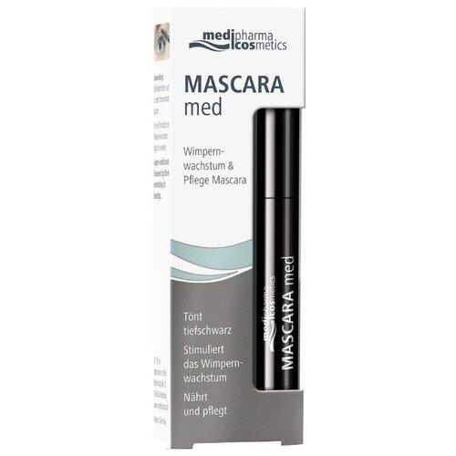 Pharmatheiss cosmetics Mascara med, черныйТушь<br>