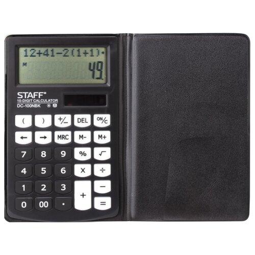 Купить Калькулятор карманный STAFF PLUS DC-100NBK черный