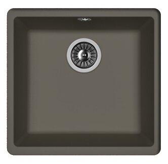 Врезная кухонная мойка FLORENTINA Вега 400 44х42см искусственный гранит