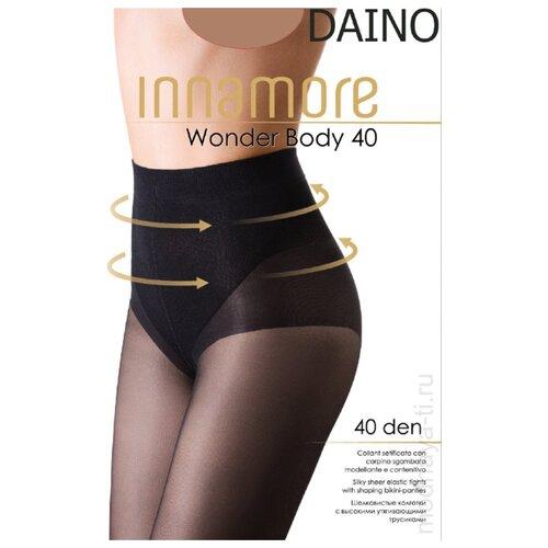Колготки Innamore Wonder Body 40 den, размер 5-XL, daino (бежевый) колготки innamore body slim 40 den размер 5 xl daino бежевый