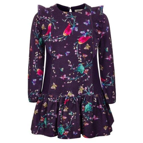 Купить Платье M&D размер 110, фиолетовый, Платья и сарафаны