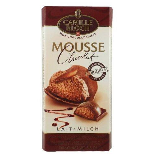 Шоколад Camille Bloch молочный с начинкой из шоколадного мусса, 100 г camille ducray henri rochefort 1831 1913