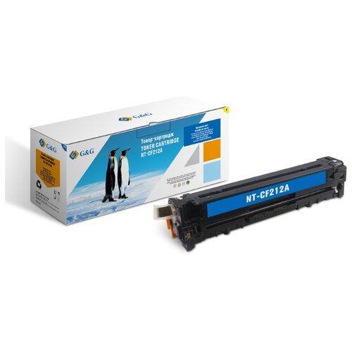 Фото - Картридж лазерный G&G NT-CF212A желтый (1800стр.) для HP LJ Pro 200 color Printer M251n/nw/MFP M276n nw
