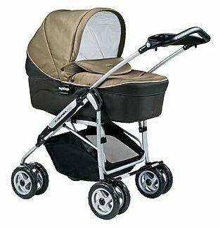 Коляска для новорожденных Peg-Perego Young (шасси Caravel 22)