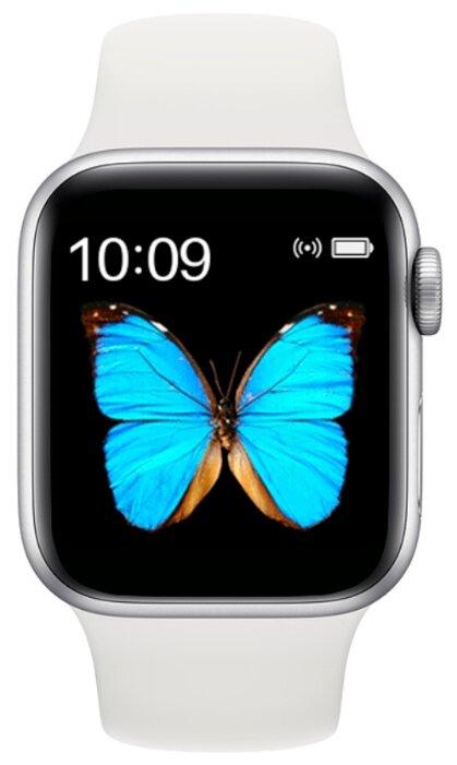 Умные часы BandRate Smart BRST5555, серебристый/белый фото 1