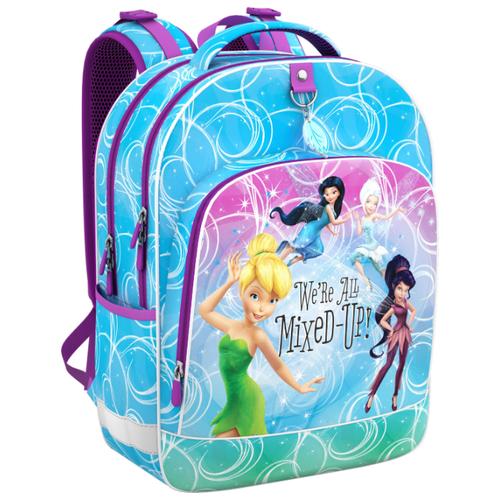 Купить ErichKrause Рюкзак школьный Disney Цветочная вечеринка 42268 сиреневый/голубой, Рюкзаки, ранцы