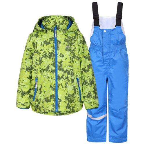 Комплект с брюками ICEPEAK 952001551 размер 104, зеленый/синийКомплекты верхней одежды<br>