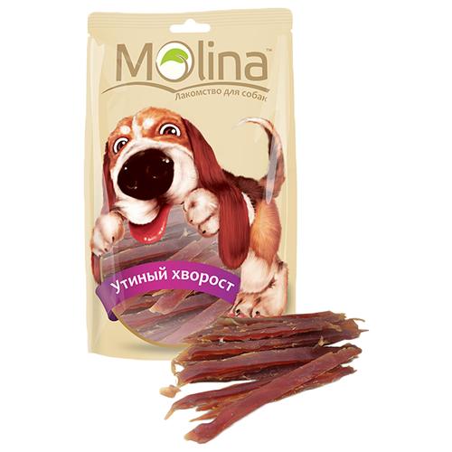 Лакомство для собак Molina Утиный хворост, 80 г лакомство для собак molina утиный хворост 80г