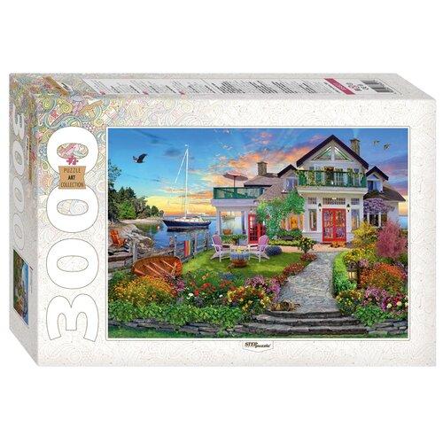Купить Пазл Step puzzle Art Collection Дом на берегу залива (85021), 3000 дет., Пазлы