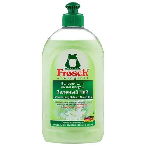 Frosch Бальзам для мытья посуды Зелёный чай 0.5 лДля мытья посуды<br>