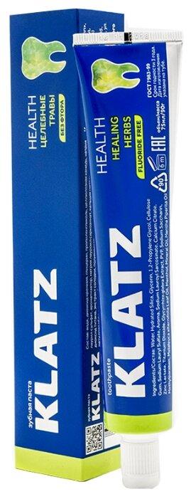 Зубная паста Klatz Health Целебные травы