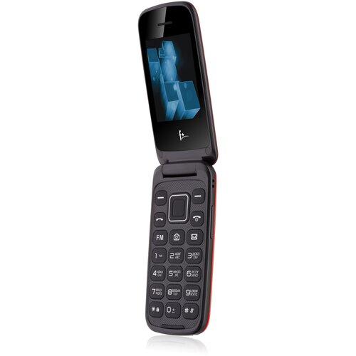 Телефон F+ Flip 2, красный