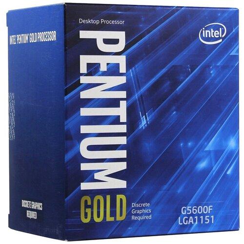 Процессор Intel Pentium Gold G5600F, BOX