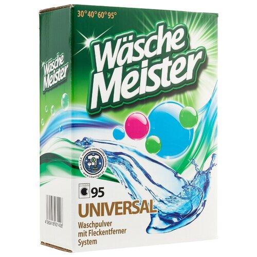 Стиральный порошок WascheMeister Universal универсальный картонная пачка 7.875 кг
