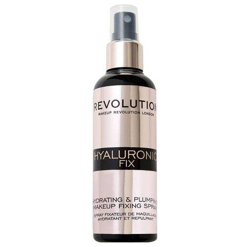 Купить REVOLUTION Спрей для фиксации макияжа Hyaluronic Fix 100 мл прозрачный
